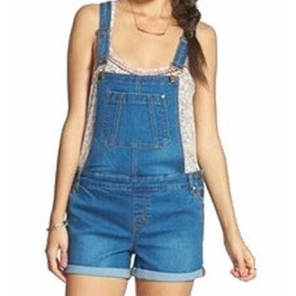 love, Fire Denim - Short overalls